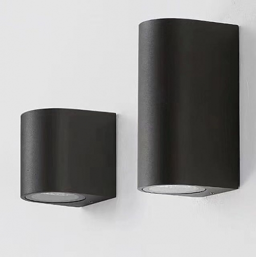 OUTDOOR /EXTERIOR WALL LAMP BLACK/GREY/WHITE